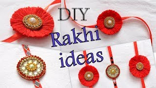 How to make rakhi at home | raksha bandhan rakhi ideas I tutorial I Creative Diaries