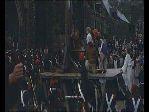 Guillotine Scene from Chouans - YouTube