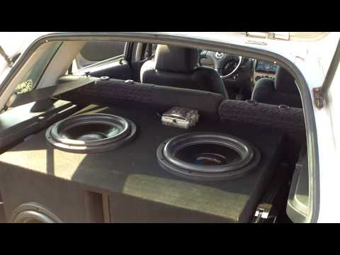 4 American Bass 12's System Walk Around
