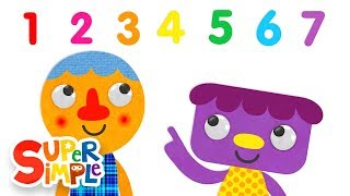 Learn numbers as we count to 7 with this simple counting song! Watc...