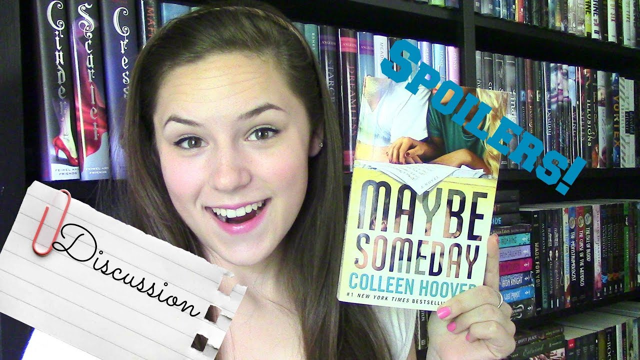 Maybe Someday by Colleen Hoover | Spoilers! - YouTube