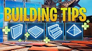 Fortnite Building Tips