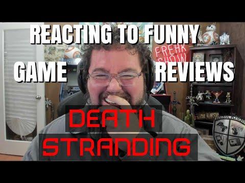 Reacting To Reviews - Death Stranding User Reviews thumbnail