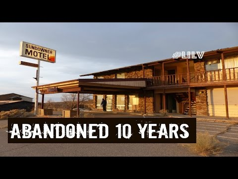 Abandoned Places in Nevada - The Sundowner Motel