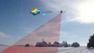 Microdrones mdLiDAR1000: plan, FLY, process, visualize