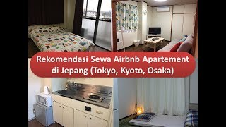 Gambar cover Rekomendasi Sewa Apartement di Jepang (Tokyo, Kyoto, Osaka)