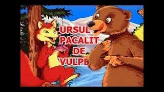 URSUL PACALIT DE VULPE - POVESTI PENTRU COPII - BASME in LIMBA ROMANA