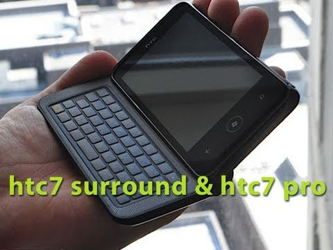 Gizmo - HTC 7 Pro & HTC 7 Surround - First Look