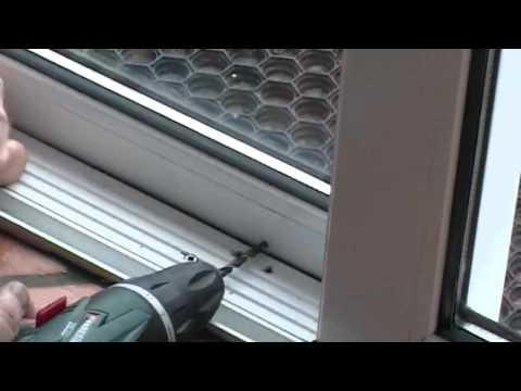Ivess Lock - Anti Theft Device - Patio Door Lock