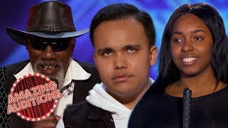 Download lagu UNBELIEVABLE Blind Contestants SHOCK And SURPRISE The World Amazing Auditions