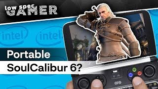 What will it take to run SoulCalibur 6 on an IntelHD handheld? | Ultra low graphics on GPD Win 2
