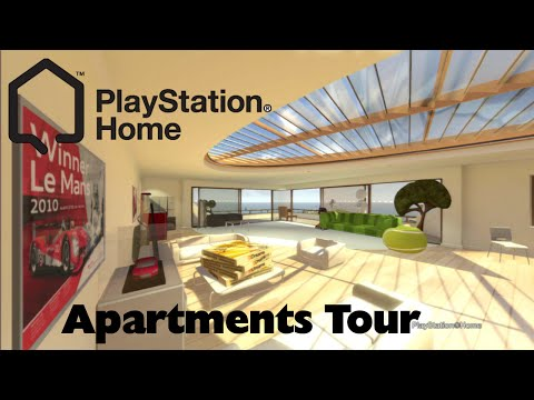 PlayStation Home - Apartments Tour (PlayStation 3)