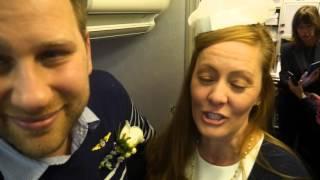 A Flying Wish: The Wedding on Alaska Airlines flight 461