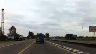 Дорога Киев-Днепропетровск в HD (серия 1)