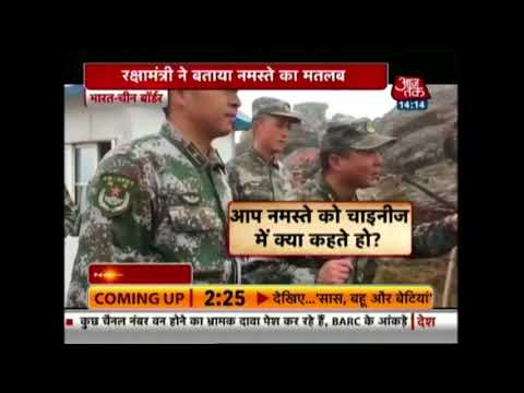 Defence Minister Nirmala Sitharaman Visits Indo-China Border In Nathula