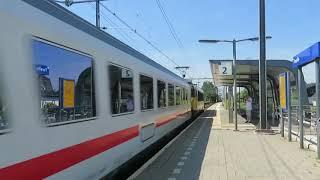 VIRMm 8681 kruist met IC-Berlijn te Twello!