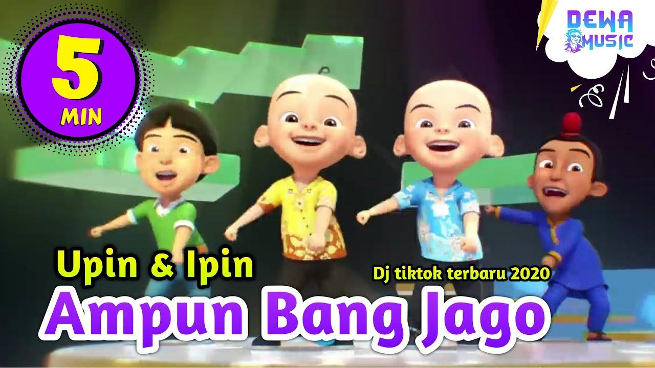 Ampun Bang Jago Tik Tok Dj Tiktok Terbaru 2020 Versi Upin Ipin Feat Bear Music Band Dewamusic Youtube