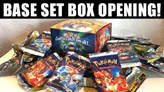 OPENING ORIGINAL POKEMON BASE SET BOOSTER BOX!!!