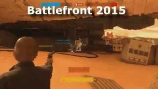 Han Solo Comparison - Star Wars Battlefront 2 VS Battlefront PS4