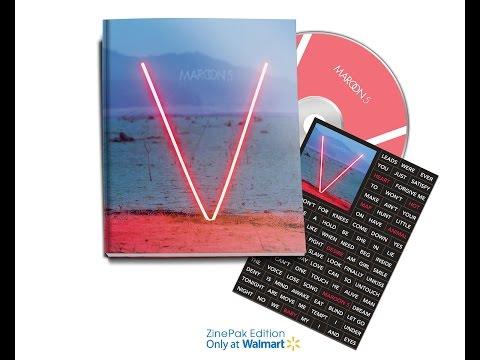 DOWLOAD ALBUM Maroon 5 - V ( Descargar ALBUM ) - Album Bunisimo
