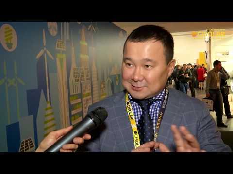 CISOLAR 2018: Arman Kashkinbekov about solar energy in Kazakhstan