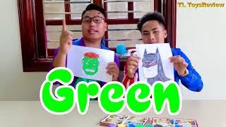 Kinderlieder und lernen Farben lernen Farben spielen Spielzeug in der Schule Kinderlieder Wort #12