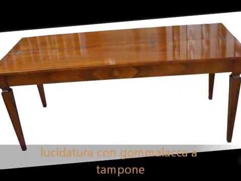 produzione tavoli consolle apribili allungabili classiche