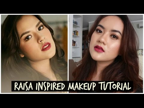 RAISA INSPIRED MAKEUP TUTORIAL by Alifah Ratu Saelynda (+ Acne Cover)