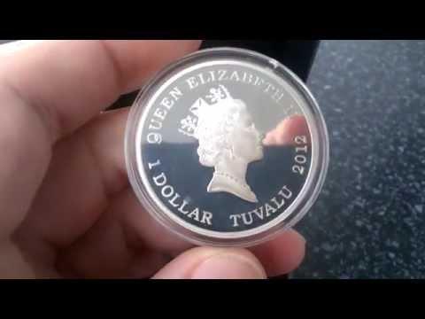 1 dollar Tuvalu 2012 USS Constitution