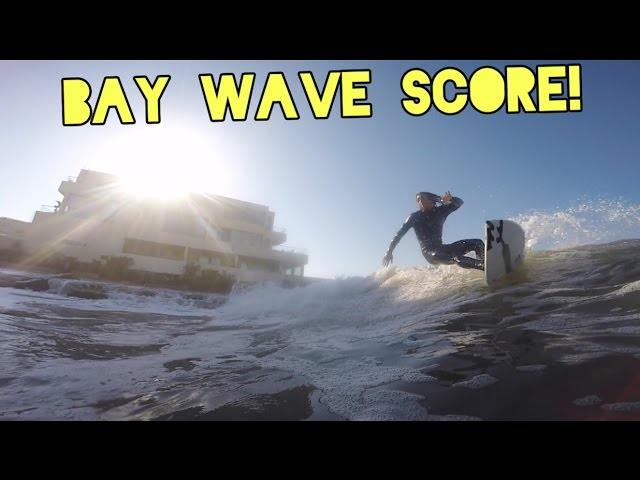 Scoring Waves in the Bay!?