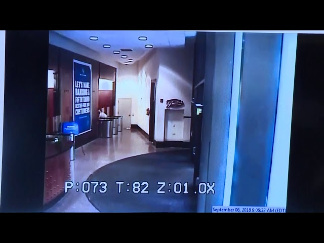 Cincinnati bank shooting video released
