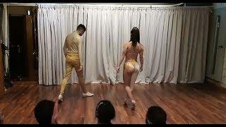 Maxi & Nahir Bachata Performance  in Hongdae Shine Bar