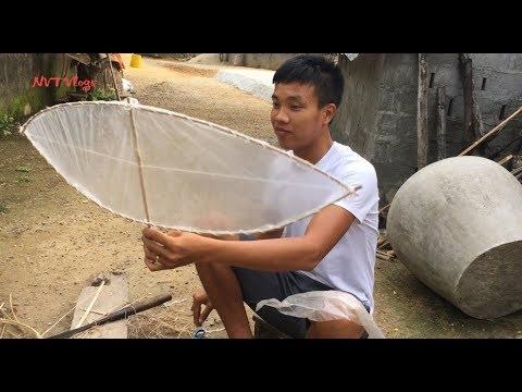 Tuổi Thơ Dữ Dội : Hướng dẫn làm diều Mặt Trăng cực đơn giản – NVT Vlogs