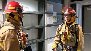 Sécurité incendie : Visite guidée du département