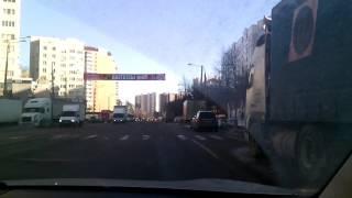 Урок вождения в городе. Занятие №3 Часть 3