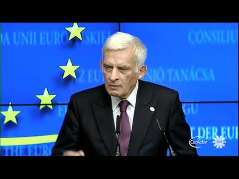 26 vs 1, we are a united European Union, Buzek says