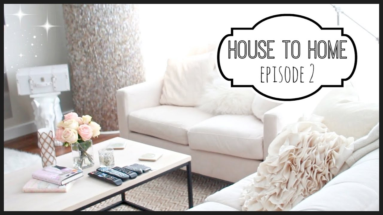 house to home episode 2 condo decor makeupmayhem day 2 youtube