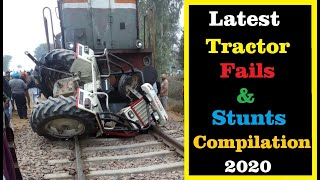 Latest Tractor Fails and Stunts Compilation 2020 | Volume 1