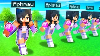 Playing Minecraft With My MULTIVERSE Twins!