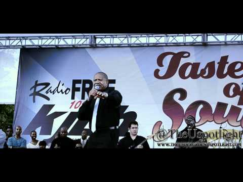 Lenny Williams Performs Cause I Love You at Taste Of Soul LA