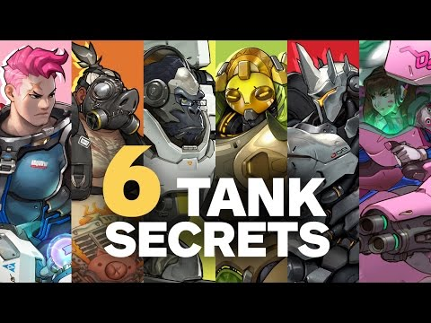6 Secrets about Overwatch's Tank Heroes by Jeff Kaplan