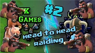 Clash Of Clans - Head To Head Collaboration Series With TK Games #2!
