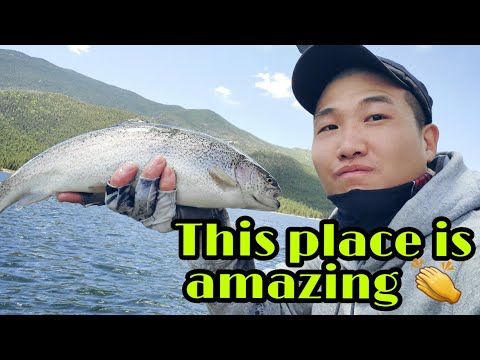 The Most Amazing Trout Fishing Lake In The Colorado. This Lake Has Everything ! (송어 루어 낚시)