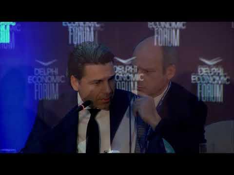 Nikos Stathopoulos in conversation with Tony Barber | Delphi Economic Forum 2018