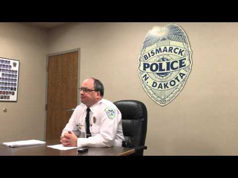 Bismarck police briefing