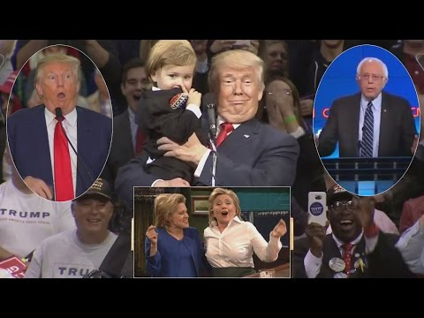 Watch The Most Memorable Moments From The 2016 Presidential Election