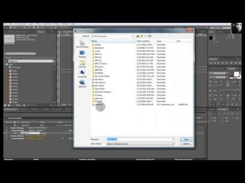 After Effect (avi) to Scaleform Video Encoder (usm)