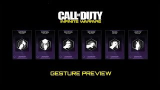 Call of Duty: Infinite Warfare - Express Yourself with Legendary Gestures