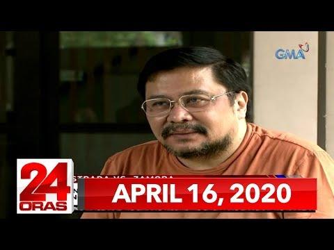 24 Oras Express: April 16, 2020 [HD] - 동영상