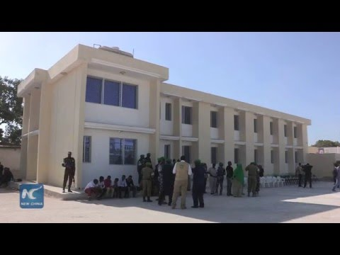 New police station to boost security at Mogadishu Airport Somalia